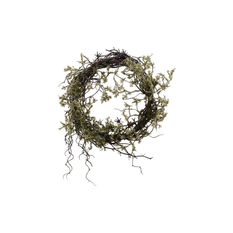 House Doctor-collectie Wreath, Wild moss, Nature
