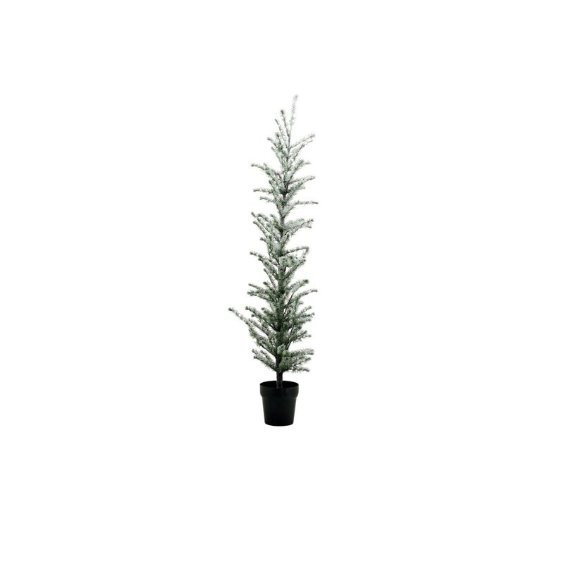House Doctor-collectie Kerstboom Flocked w. 190 wire LED lights Natuur