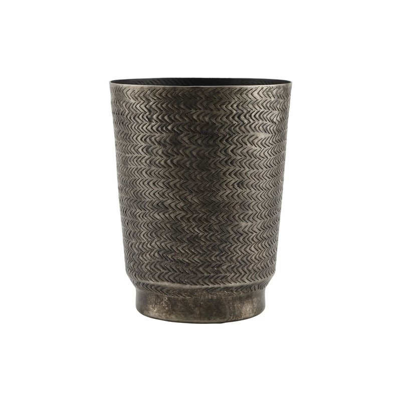 House Doctor-collectie Planter, Oli, Brushed black finish, Finish/Colour may vary