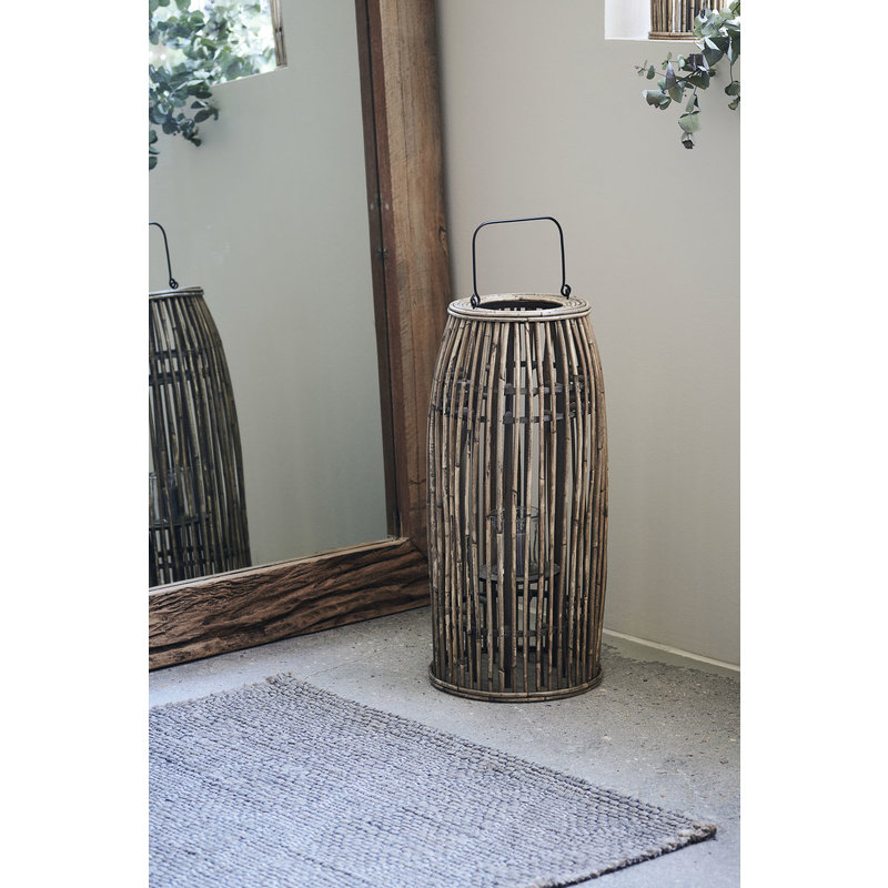 House Doctor-collectie Lantern, Ova, Natural