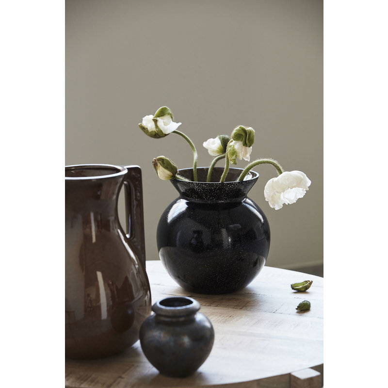 House Doctor-collectie Vase, Chenna, Black