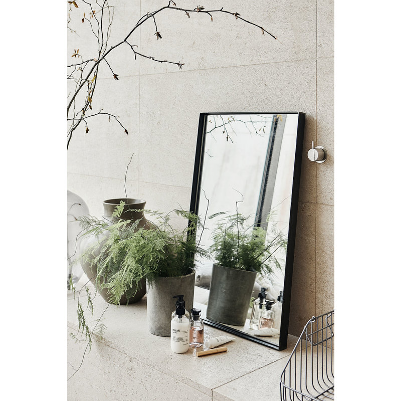 House Doctor-collectie Mirror w. frame, Raw