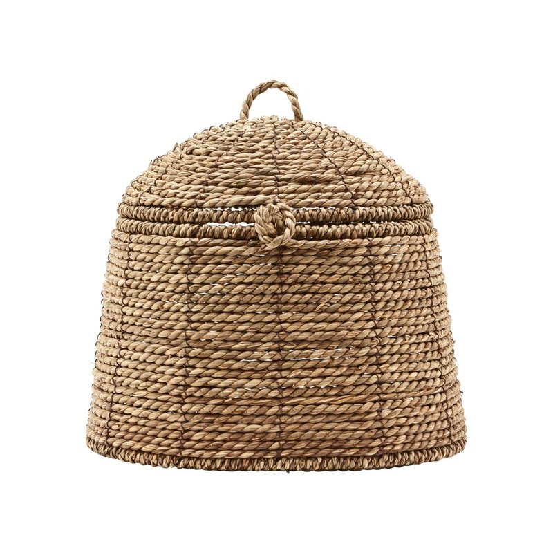House Doctor-collectie Basket w. lid, Rama, Natural