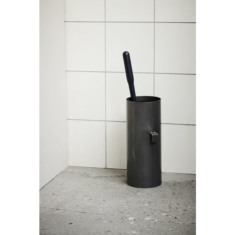 House Doctor-collectie Toiletborstel Simply metaal