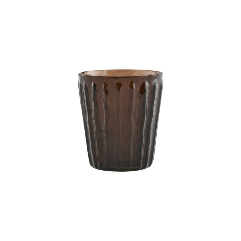 House Doctor-collectie Tealight holder, Tinka, Brown