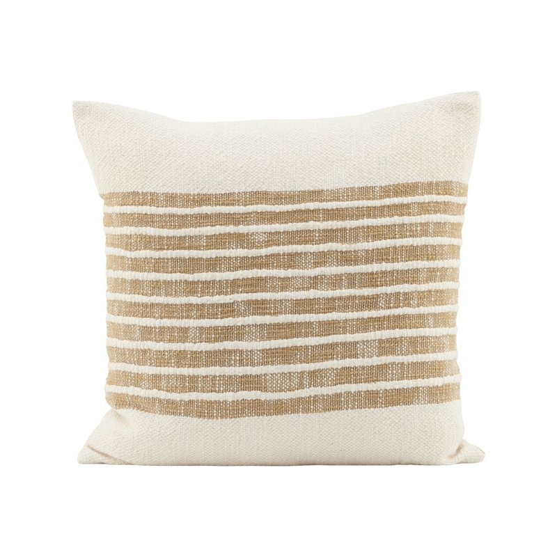 House Doctor-collectie Pillowcase, Yarn, Light brown