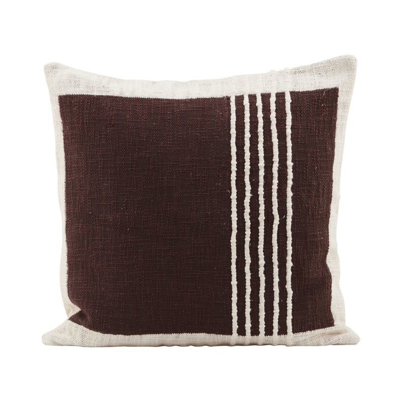 House Doctor-collectie Pillowcase, Yarn, Brown