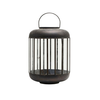 House Doctor Lantern, Pamal, Antique brown, Finish/Colour may vary