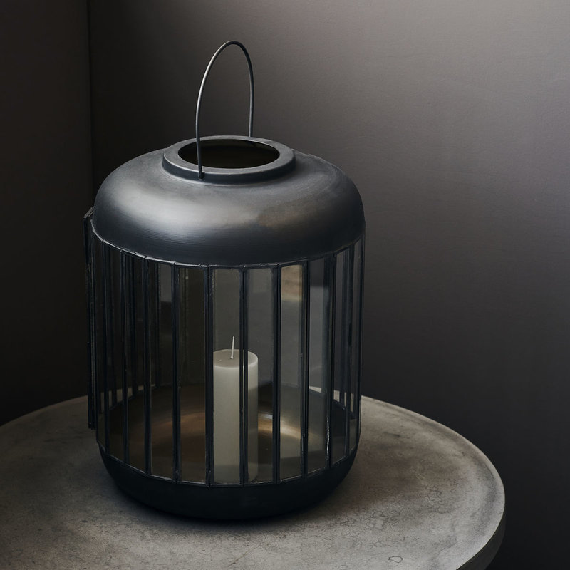 House Doctor-collectie Lantern, Pamal, Antique brown, Finish/Colour may vary
