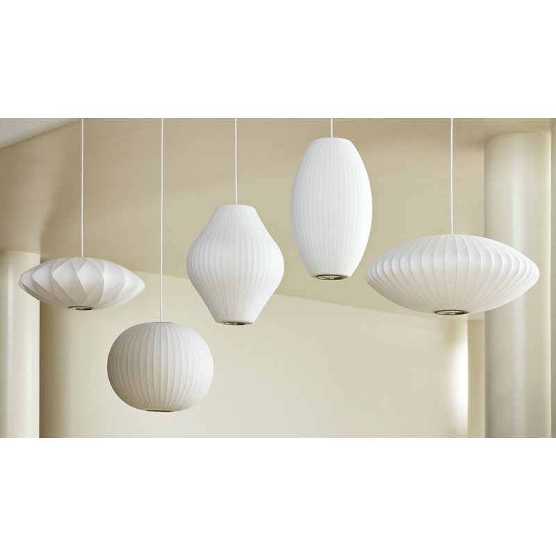 HAY-collectie Nelson Pear Bubble Pendant M
