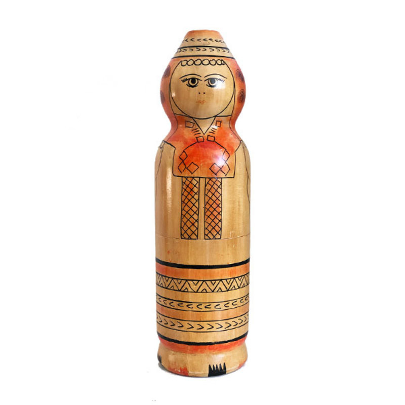 DEENS LOVES-collectie Vintage wooden doll