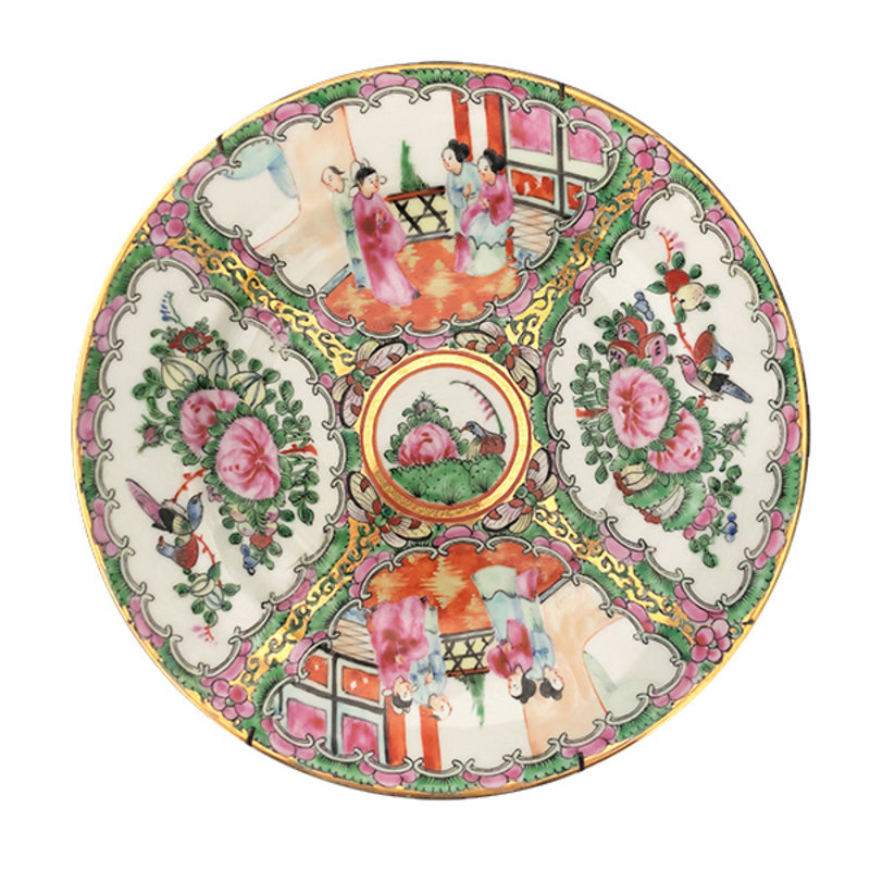 DEENS LOVES-collectie Vintage decoration plate with oriental motif