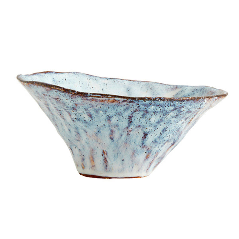 Nordal-collectie SOISALO unika bowl, M, ice blue