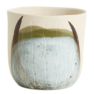Nordal REPLOT pot, S, cream