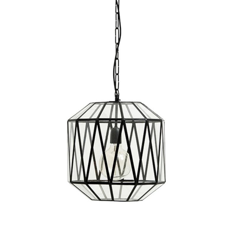 Nordal-collectie Hanglamp HERA met triangle glas