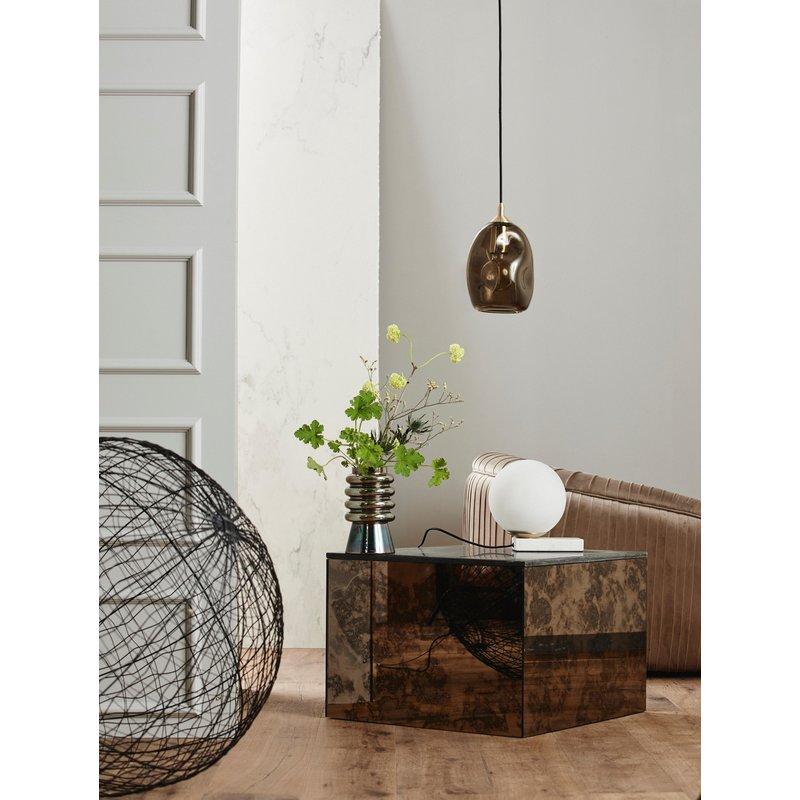 Nordal-collectie OKA coffee table, antique mirror, stone