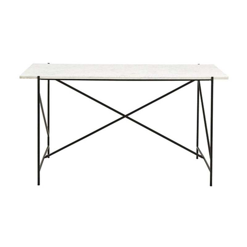 Nordal-collectie DEE desk, white marble