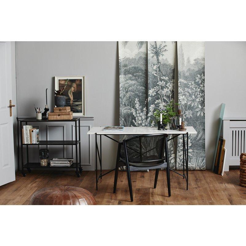 Nordal-collectie Bureau DEE wit marmer