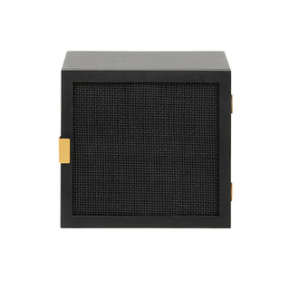 Nordal RECCO wall table/cabinet, black