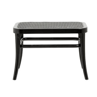 Nordal WICKY small bench, black