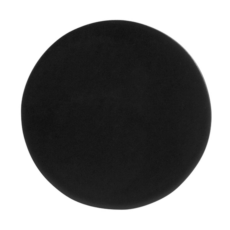 Nordal-collectie KOS hook/knob, black circle