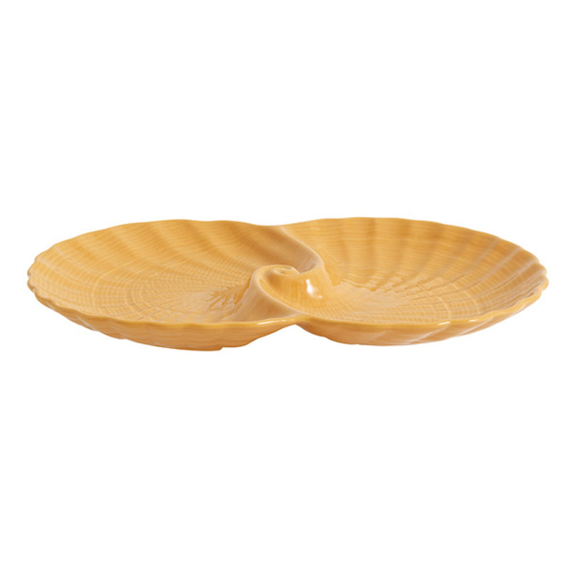 Nordal-collectie GULLFOSS tray, L, mustard
