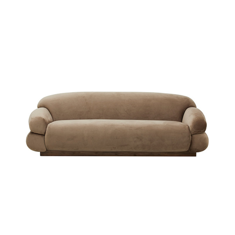 Nordal-collectie SOF sofa, light brown