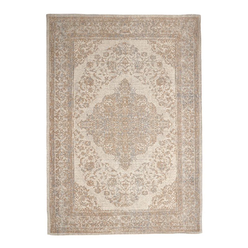 Nordal-collectie PEARL woven carpet, sand/beige