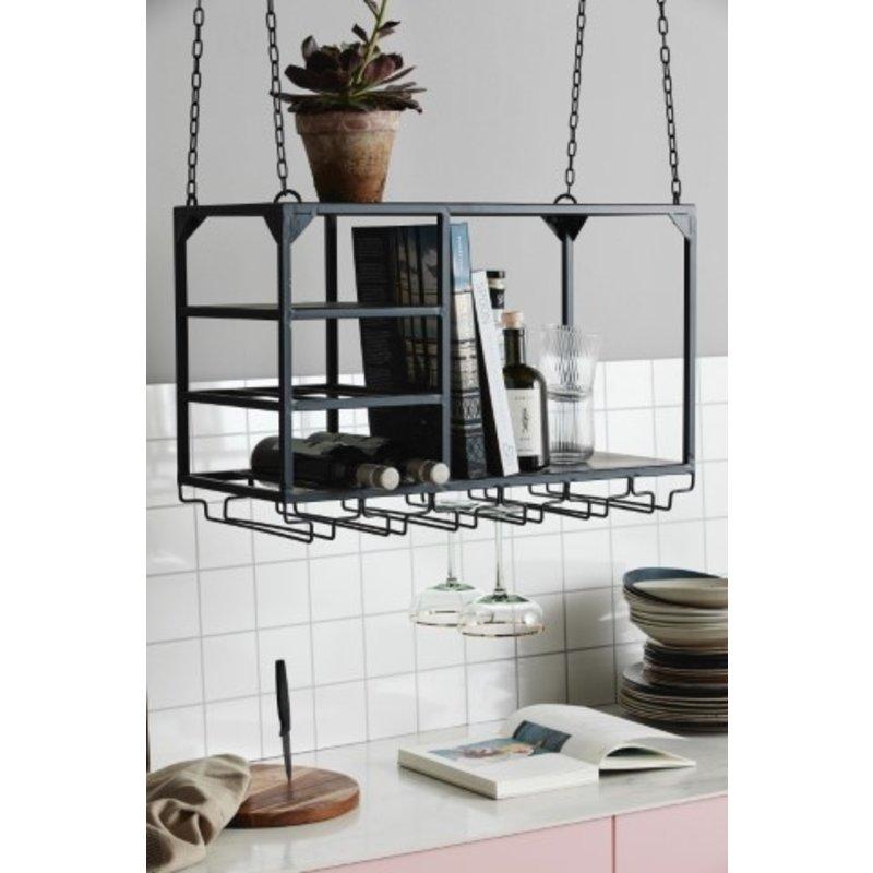 Nordal-collectie Keukenrek LOFT zwart S