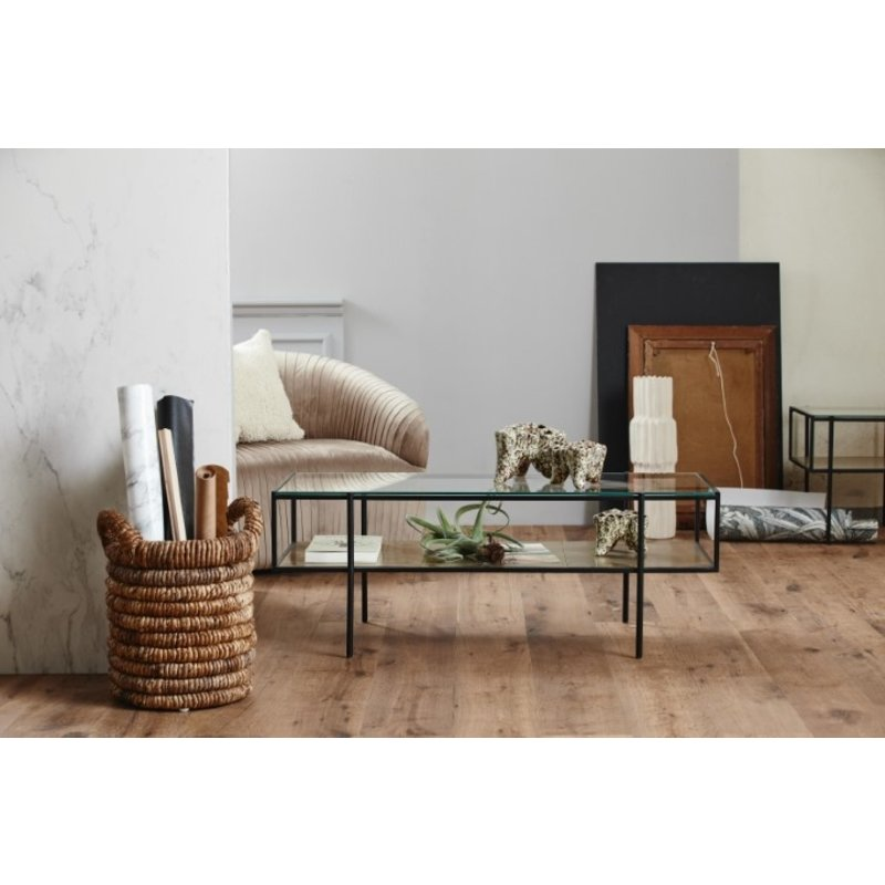 Nordal-collectie Fauteuil LORE rib lichtbruin