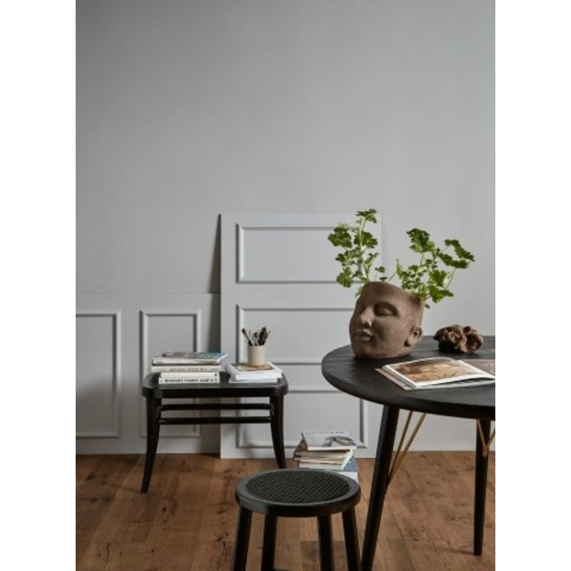 Nordal-collectie WICKY small bench, black