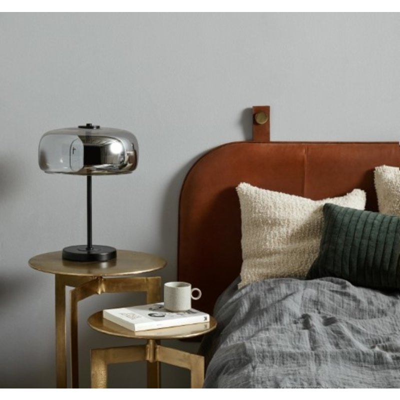 Nordal-collectie ONEGA head board, brown leather
