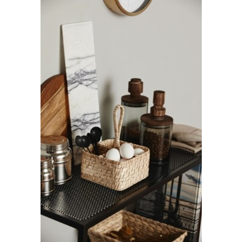 Nordal-collectie MERIAN cutlery basket. natural