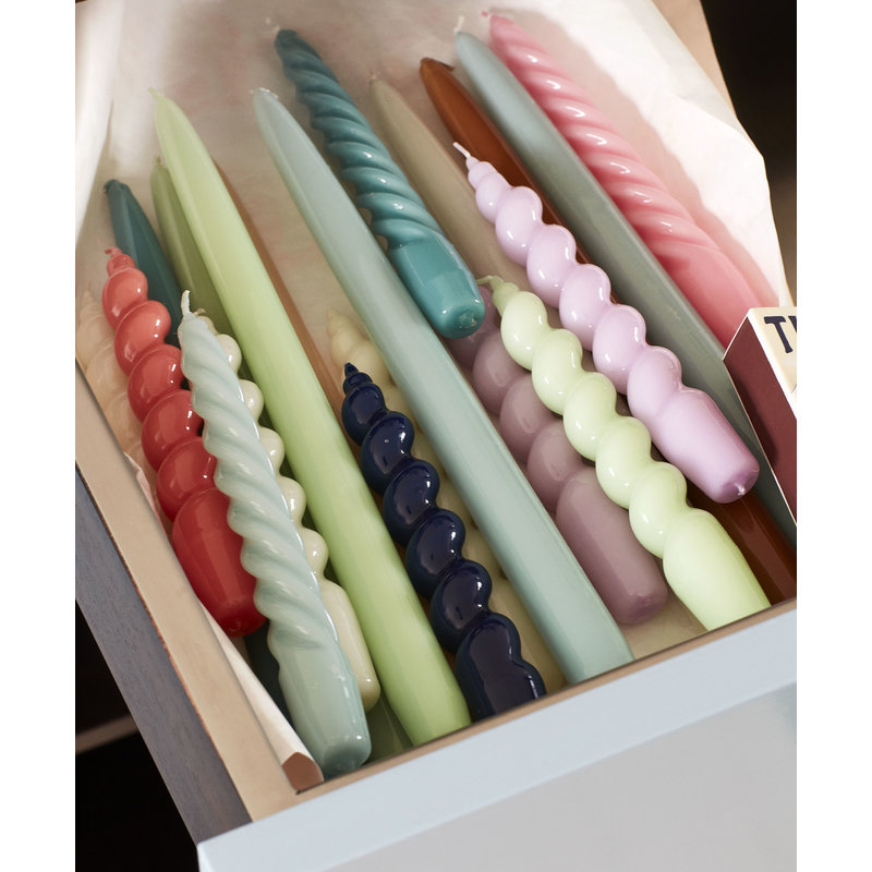 HAY-collectie Candle Spiral Set of 6