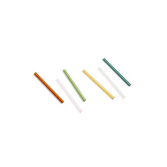 HAY Sip Cocktail Straw Set of 6