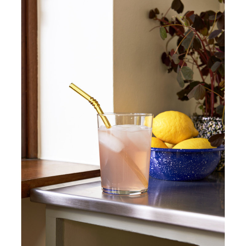 HAY-collectie Sip Swirl Straw Set of 6