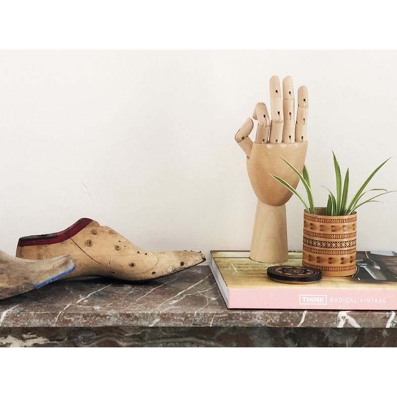 DEENS LOVES-collectie Vintage wooden shoe last