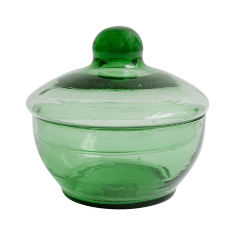 Household Hardware-collectie Bottle green bonbonniere