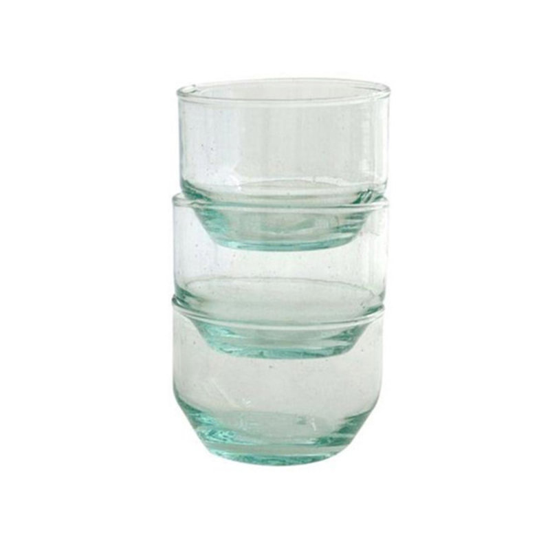 Household Hardware-collectie Wijnglas plat transparant