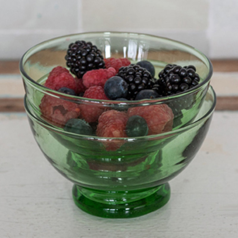 Household Hardware-collectie Bottle green bowl S