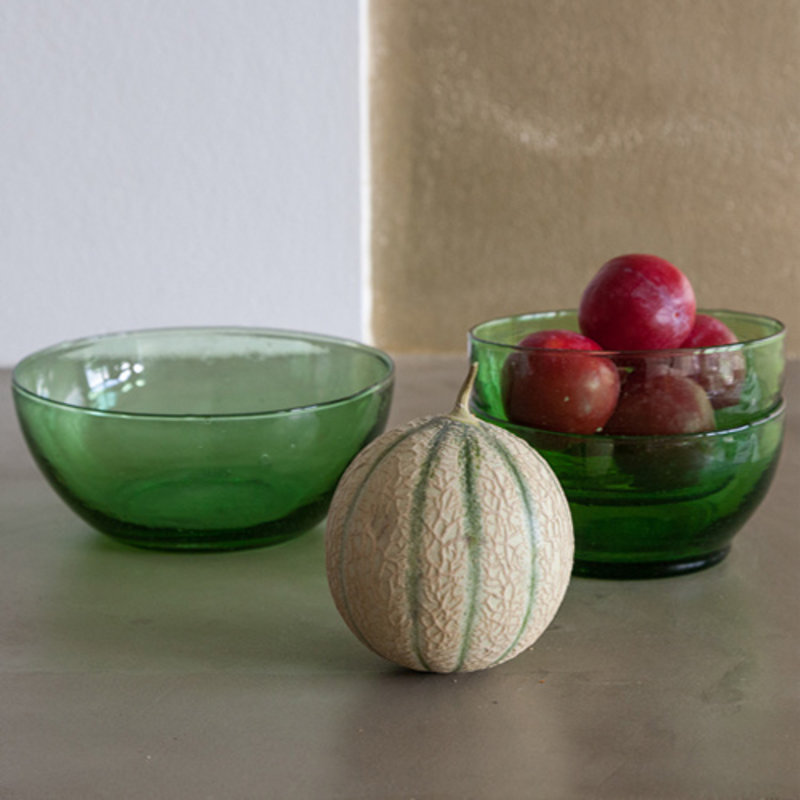Household Hardware-collectie Bottle green bowl M