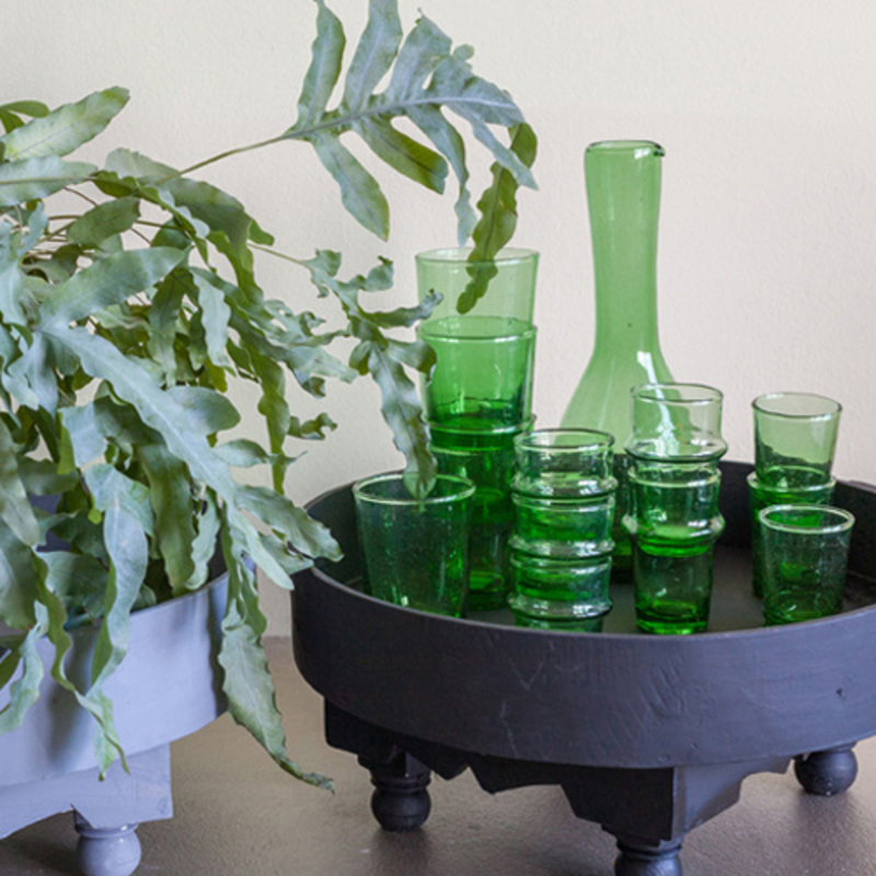Household Hardware-collectie Bottle green bouteille cigogne