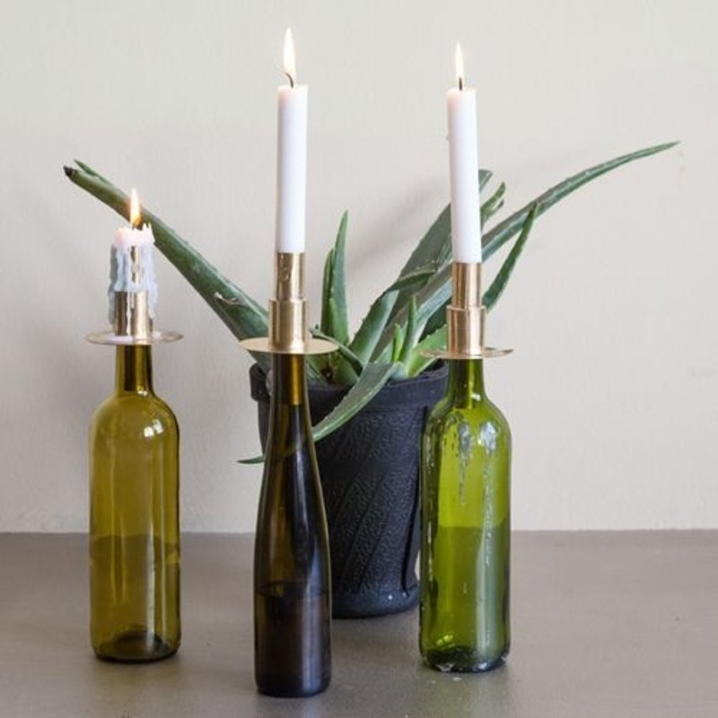 Household Hardware-collectie Bottle candle copper