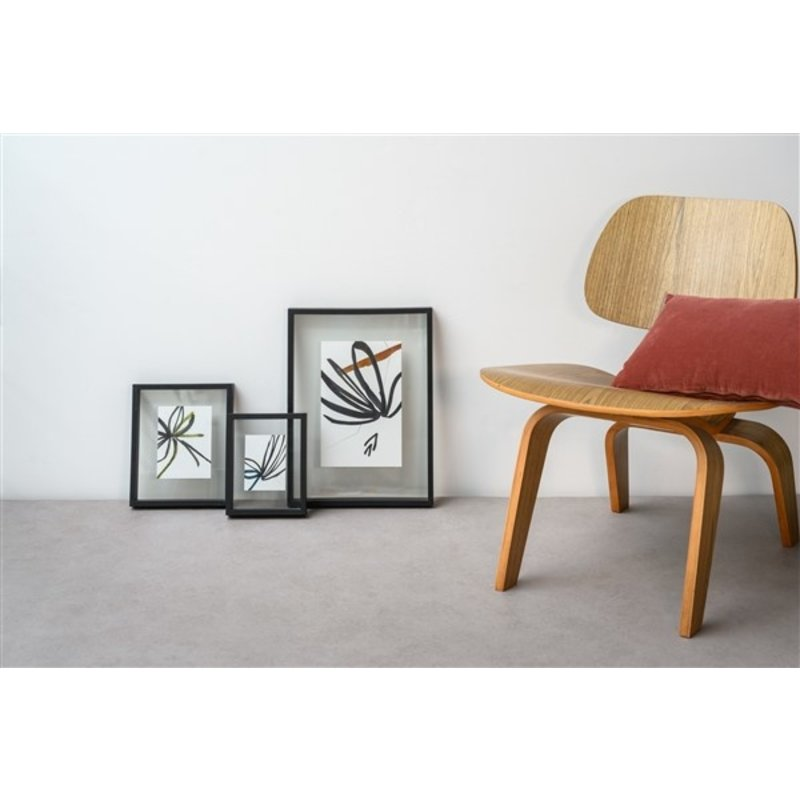 Urban Nature Culture-collectie Floating frame Minimalism S, black