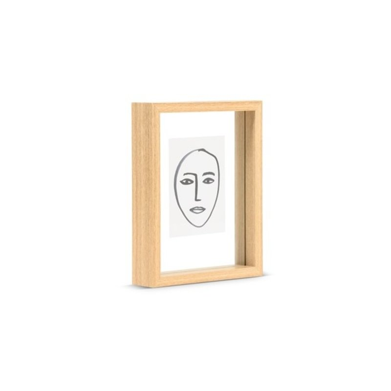 Urban Nature Culture-collectie Houten fotolijst floating naturel incl. print small