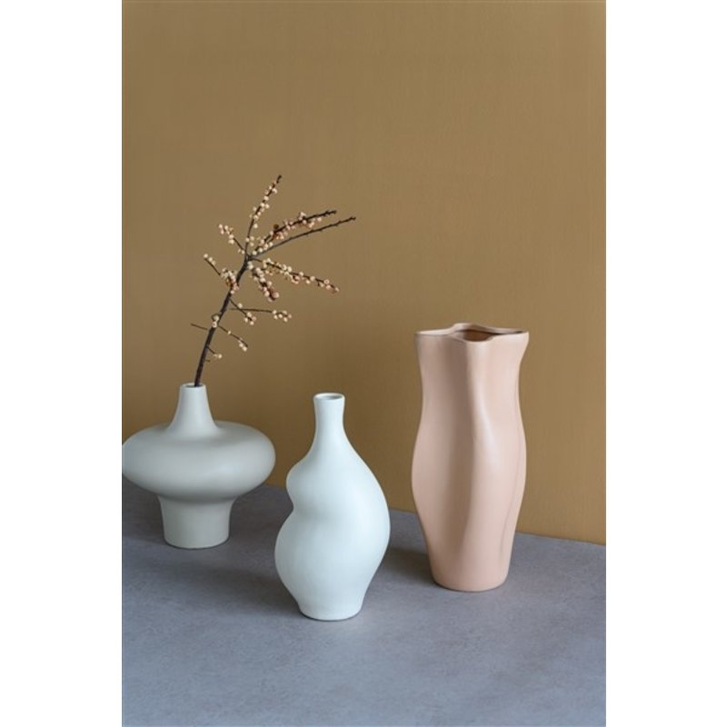 Urban Nature Culture-collectie Flower vase Sensual, cameo brown