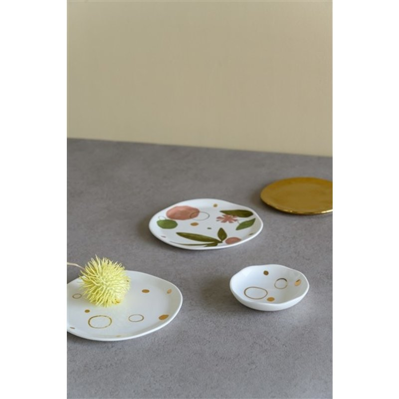 Urban Nature Culture-collectie Good Morning Plate Circle Gold