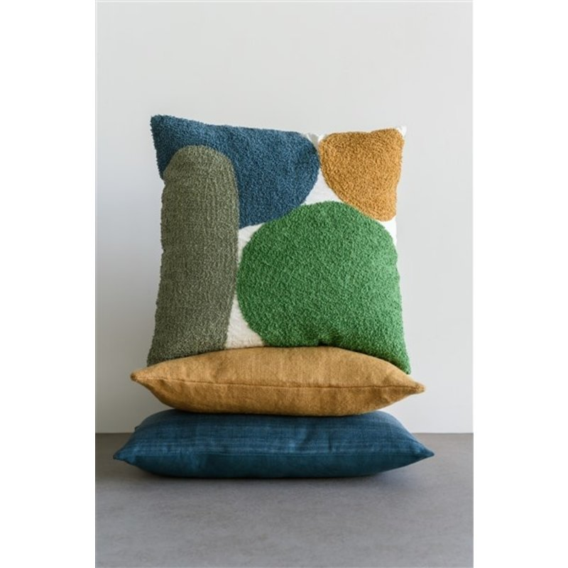 Urban Nature Culture-collectie Cushion washed jute, wood rush