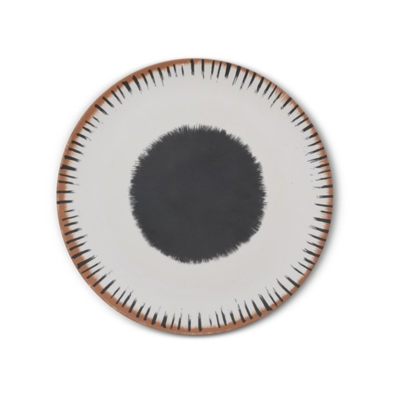 Urban Nature Culture-collectie Dinner plate bamboo 25 cm Vibration A