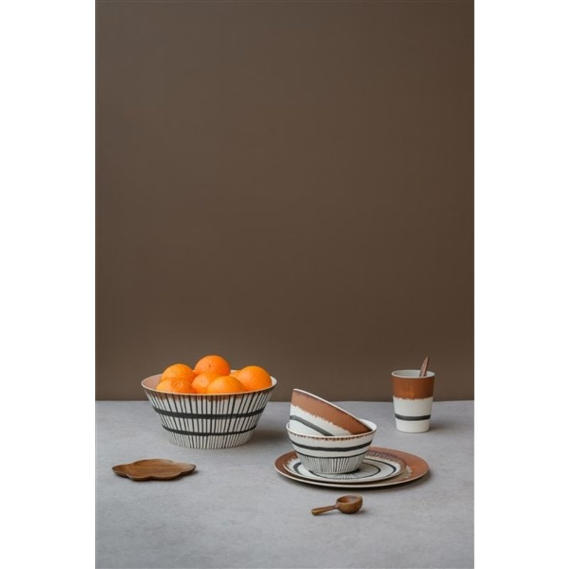 Urban Nature Culture-collectie Dinerbord bamboe 25 cm Vibration A